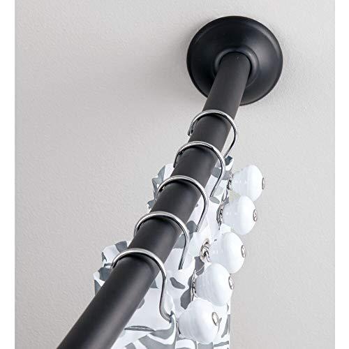 MDesign Barra cortina curva – Barra ducha extensible
