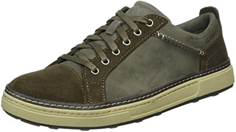 Clarks Herren Lorsen Edge Sneakers  Billig und erschwinglich Im Verkauf