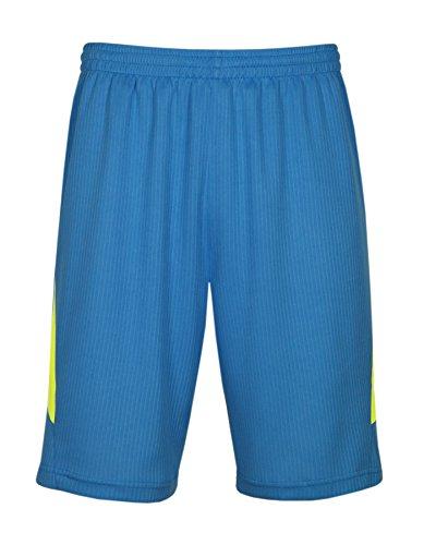 EPISTER Badeshorts knielang Shorts mit Innenslip Blau
