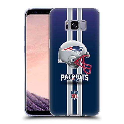 fizielle NFL Helm New England Patriots Logo Soft Gel Hülle für Samsung Galaxy S8 ()