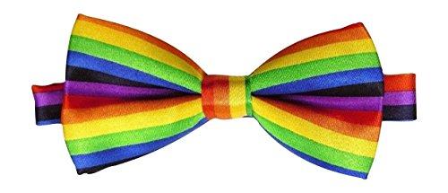 Satin pour homme luxury réglable de pie (arc-en-ciel) rainbow
