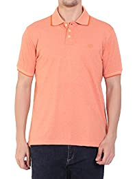 CHKOKKO Cotton Half Sleeves Polo T Shirts For Men
