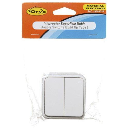 Oryx 19090010 Interruptor, superficie doble