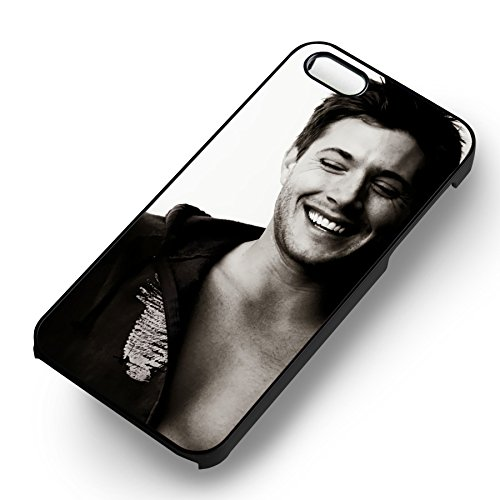 Jensen Ackles Supernatural pour Coque Iphone 6 et Coque Iphone 6s Case (Noir Boîtier en plastique dur) G4T4QR