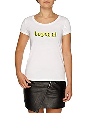 Jergley Buying GF Camiseta Blanco Mujer | Women's White T-Shirt