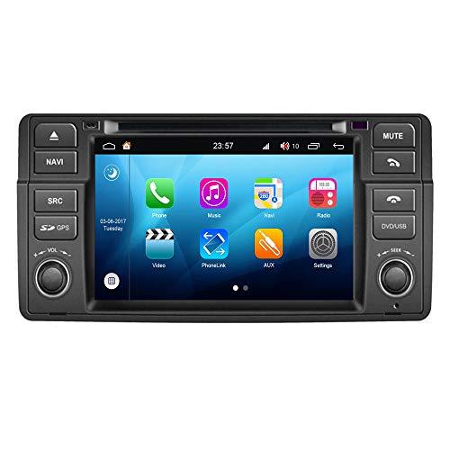 Roverone Android System 7 Zoll In Dash Autoradio GPS für BMW E46 M3 Z3 Z4 Rover 75 MG ZT 318i 320i 325i 328i mit Stereo Navigation System DVD SD USB Touch Bildschirm -