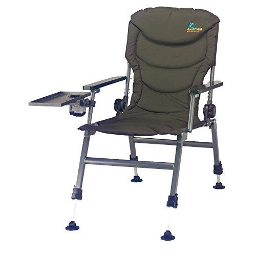 Anaconda Table Carp Chair 9734350   Karpfenstuhl   Angelstuhl mit Tisch   Campingstuhl