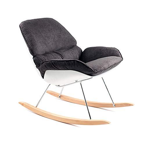 WHYDIANPU Silla Plegable Silla Mecedora sillón reclinable de ...