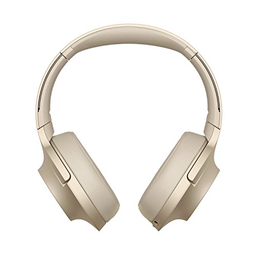 Sony WHH900N - Auriculares de Diadema inalámbricos (H.Ear, Hi-Res Audio, cancelación de Ruido, Sense Engine, Bluetooth, Compatible con aplicación Headphones Connect) Beige