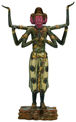 Japan's National Treasure - Asura (Replica) - Bronze Statue with Lacquer Finish, MADE IN JAPAN [Standard ship by EMS: with Tracking & Insurance] - Buddha-statue In Japan