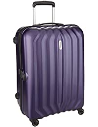 Aristocrat Aston Polycarbonate 79 cms Purple Hard Sided Suitcase (ASTON79TMDP)