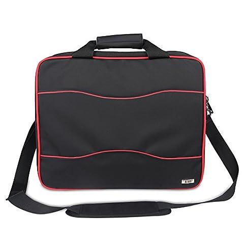 BUBM sacoche de voyage multifonction pour Xbox One / XBOX 360 consoles de jeux / sac à bandoulière Wireless Controller Stereo Headset bag - (noir)