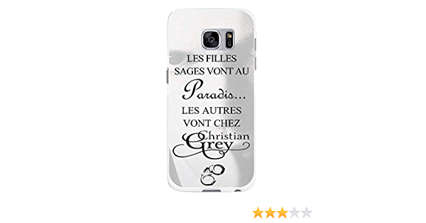 Coque-swag - Coque Rigide Samsung Galaxy S7 Edge - Christian Grey - Menottes - CS01599