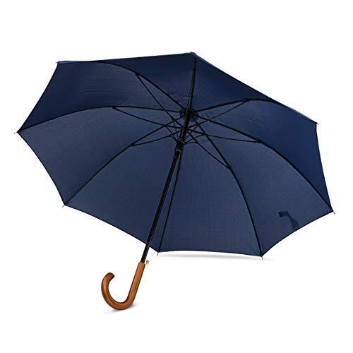 Paraguas Sin Teflón Grande Automático Prueba Viento