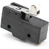 heschen Micro interruptor Z-15GW22-B corto Bisagra Rodillo Palanca 3Terminal de tornillo 15A Corriente nominal UL Listed