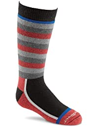 Calcetines de esquí para niños FoxRiver Snow Day Negro Rot/Schwarz/Grau Talla:small