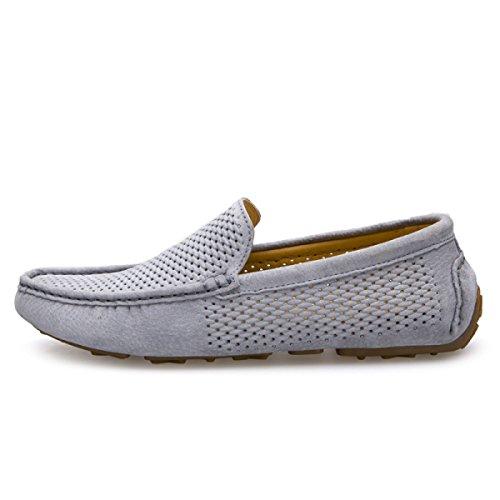 CHT Männer Casual Sommer Sandalen Faule Schuhe Hohlen Runden Grey