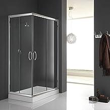 Suchergebnis auf Amazon.de für: duschkabine 75x90 | {Duschabtrennung glas eckeinstieg 89}