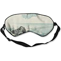Sleep Eye Mask Island Sea Wave Lightweight Soft Blindfold Adjustable Head Strap Eyeshade Travel Eyepatch E6 preisvergleich bei billige-tabletten.eu