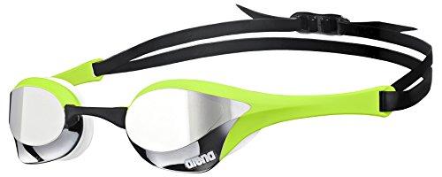 Arena Cobra Ultra Mirror Gafas de Natación, Unisex Adulto, (Plateado / Verde / Blanco)