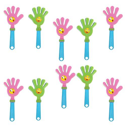 ststoff Handklatsche Klapperhand Klatschhand perfekt für Olympia, Halloween, Geburtstagsfeier, Party, Hochzeitsfeier, Sport-Spiele usw. ()