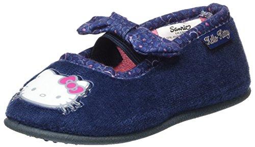 Hello Kitty Mädchen HK Baraka Pantoffeln, Blau (Navy), 25 EU (Hello Kitty Schuhe Mädchen)
