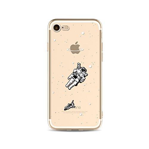 Coque iPhone 7 Plus Housse étui-Case Transparent Liquid Crystal Capture de Rêve en TPU Silicone Clair,Protection Ultra Mince Premium,Coque Prime pour iPhone 7 plus (2016)-style 11 style 15