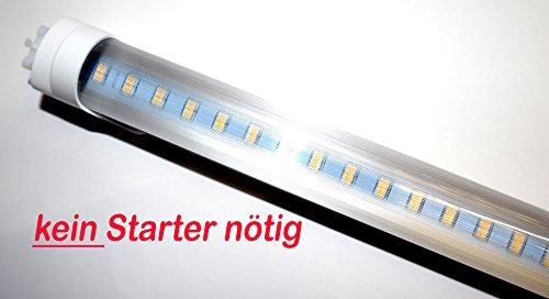 LED Leuchtröhre [kein Starter nötig!] T8 Länge 43,5 cm (435mm) Leistung 7W Lumen 900lm Lichtfarbe 6000K Farbreinheit CRI >80 Durchmesser 26mm Sockel G13