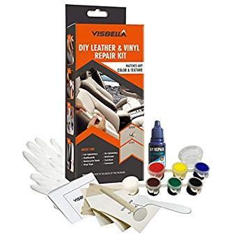 Xueliee DIY Leder und Vinyl Repair Kit-Do IT Yourself Werkzeug Fix Löcher, Risse, Polster Jacke
