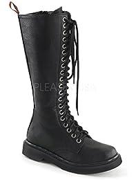 Demonia Damen Vegan Combat-Boots Rival-400