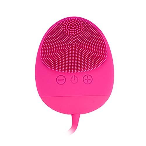 Dispositivo De Belleza Facial,Cepillo Facial Silicona,Masajeador