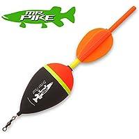 Quantum Mr Pike Drift Float - Segelpose zum Raubfischangeln mit Köderfisch, Hechtpose zum Köderfischangeln, Angelpose für Hecht
