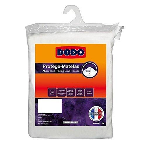 Dodo - DODO Protege-matelas Améthyste 200x200 cm en forme de drap housse