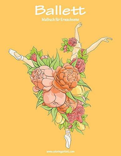 Ballett-Malbuch für Erwachsene -