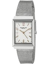 Stührling Original Reloj 126L.12112 - Reloj para mujer con brazalete metálico, plateado