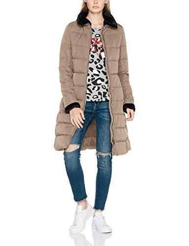 Armani Jeans Damen Mantel Jacket, Braun (Fango 1752), 36 (Herstellergröße: 42)