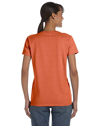 GILDAN - T-shirt - Femme Sunset (Heather)
