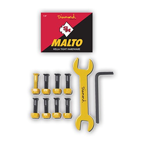 "Sean Malto Pro Skateboard Bolts 7//8/"" Diamond Supply Co"