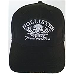 SWC SWC-50 - Gorra de béisbol Hollister independance Run Biker Gorro Para Harley Chopper Customs Bike Party Fan