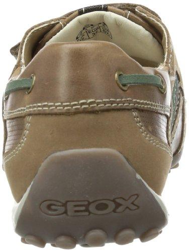 Jungen GREEN MOC Braun J3216E04332C0702 Sneaker SNAKE Geox C0702 BROWN E J qxT16UwO