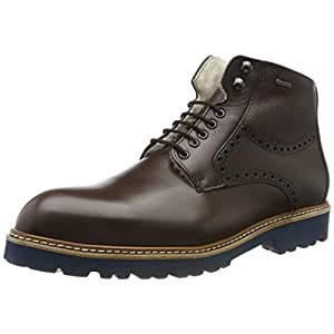 LLOYD Herrenschuh VILLOD, gefütterter Gore-Tex Stiefel aus Leder mit Gummisohle
