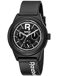 Reebok RC-CDD-L5-PBPB-BW - Reloj de cuarzo para mujer, correa de silicona color negro