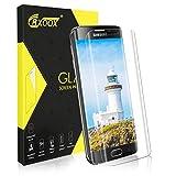 Verre Trempé pour Samsung Galaxy S6 Edge, [3D Couverture Complète] Film Protecteur...