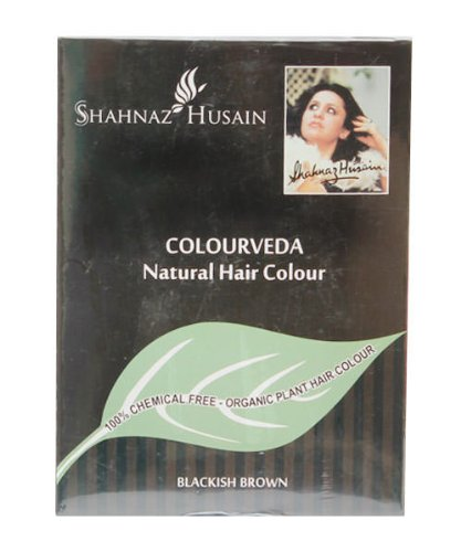 Sehnaz Husain Colourveda Natural Hair Colour Blackish Brown, 100g