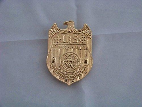 (Navy CIS Spezial Agenten Marke / Badge , NCIS Abzeichen , ca. 6,3 cm x 4,5 cm - ca. 41 g , Neu , Kostüm , Fasching , Kanevall)