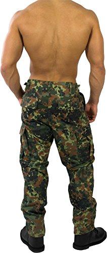 US Rangerhose Freizeithose Rangerhose BDU Style Flecktarn