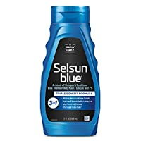 Selsun Blue Active 3-in-1 Dandruff Shampoo 11 Ounce (Pack of 1)