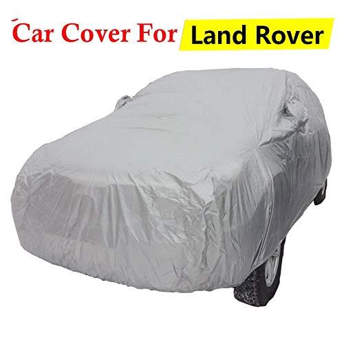 ERQINGCZ Wasserdichte Autoabdeckung Auto Abdeckung Sun Regen Schnee Kratzfest SUV Abdeckung Für Land Rover Discovery Range Rover Freelander Defender 90 110