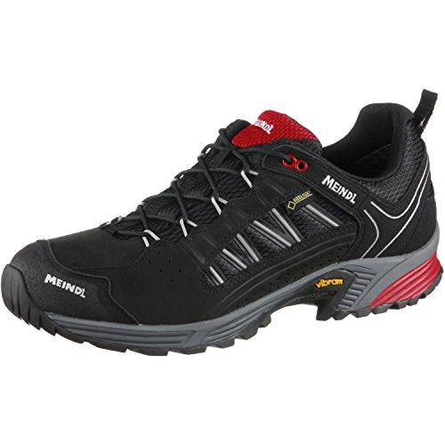 Meindl Schuhe SX 1.1 GTX Men - Schwarz/Rot, schwarz-rot, 44 EU