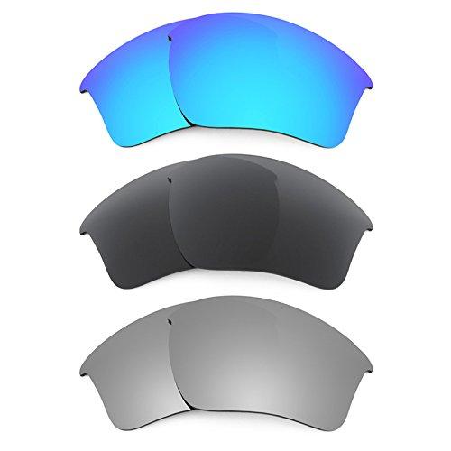 Revant Ersatzlinsen für Oakley Half Jacket 2.0 XL Polarisiert 3 Paar Kombipack K015